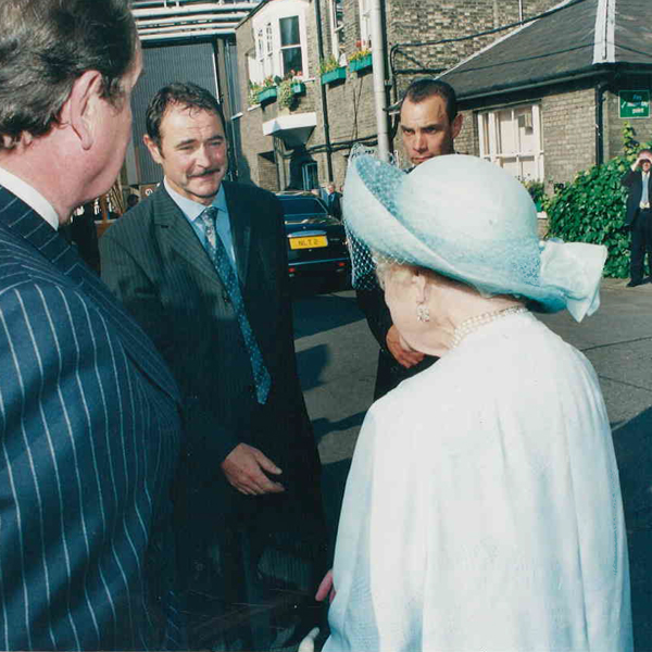 meeting queen mother